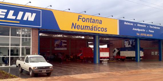 Acerca de la empresa ::: Fontana Neumáticos