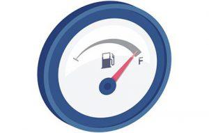 Menos consumo de combustible